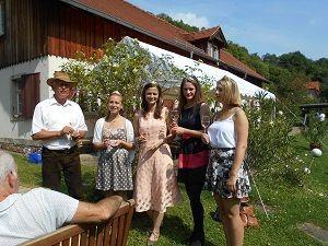 Weinköniginnen