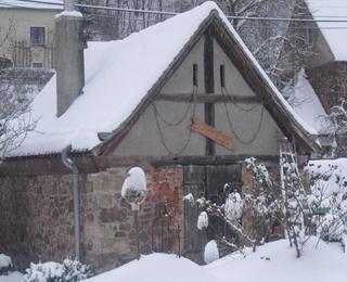 Winter beim Weinbau Fehrmann